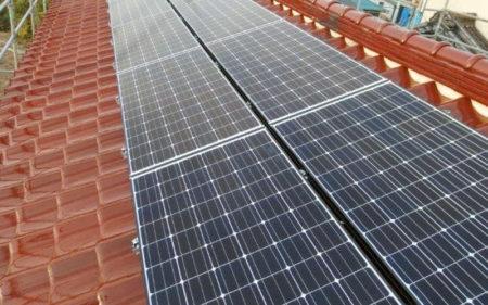 補強材を入れて太陽光発電を!