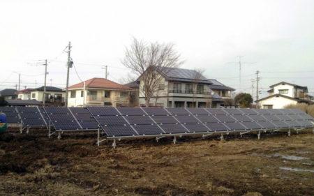 使っていない休耕地に太陽光発電を!