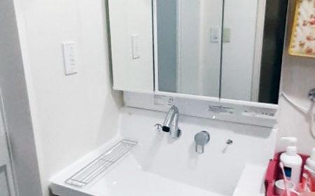 洗面化粧台交換工事 福島市